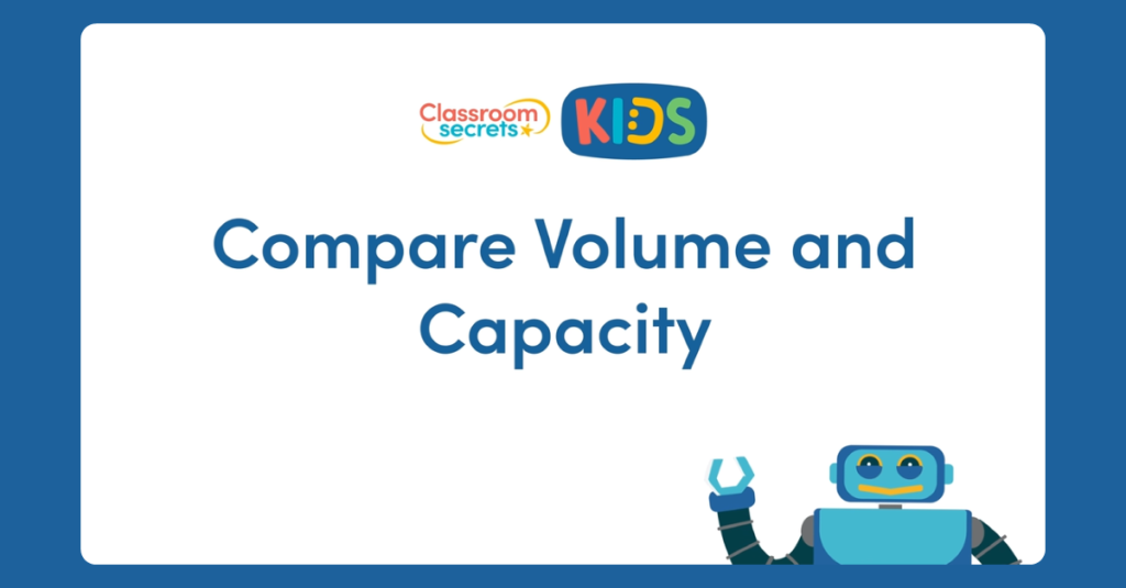 Year 3 Compare Volume and Capacity Video