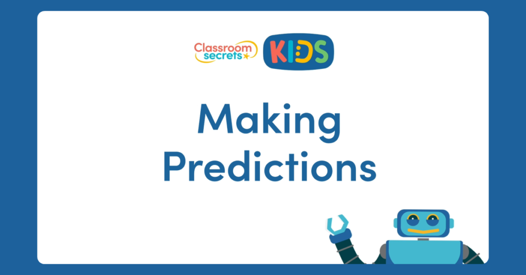 Year 1 Making Predictions Video