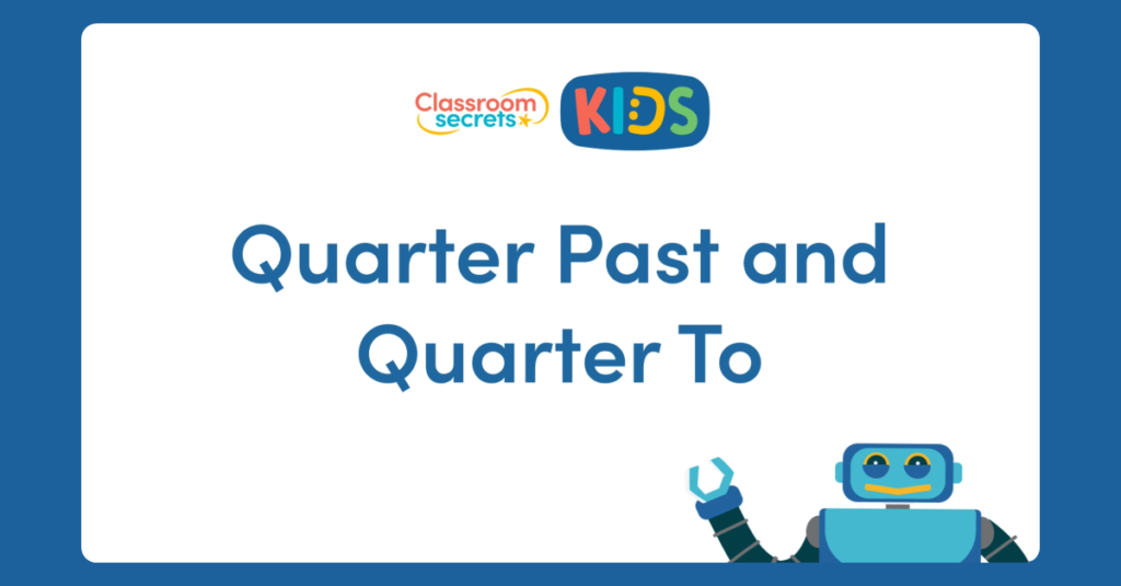 Year 2 Quarter Past and Quarter To Video