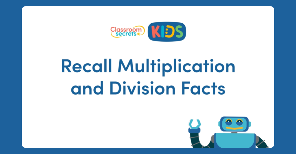 Year 4 Multiplication and Division Facts