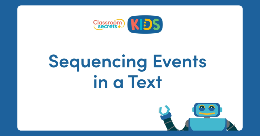 Sequencing Events in a Text Video