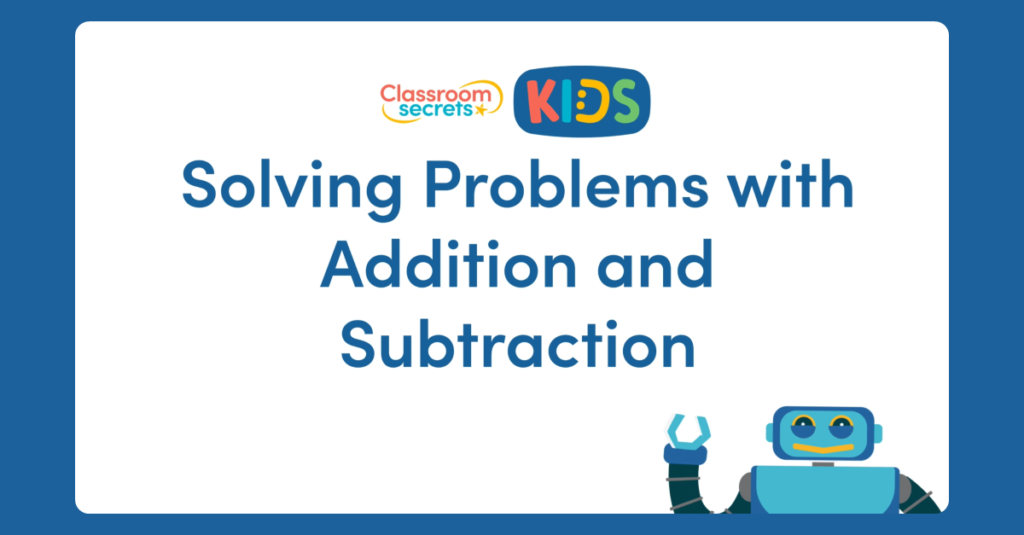 Year 3 Solving Problems with Addition and Subtraction Video