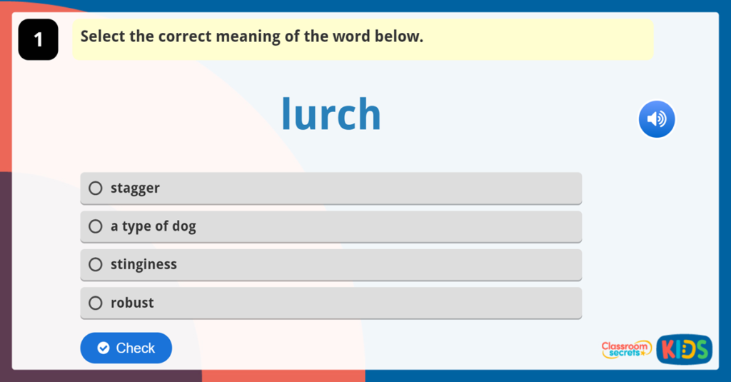 Year 6 Vocabulary Challenge 4