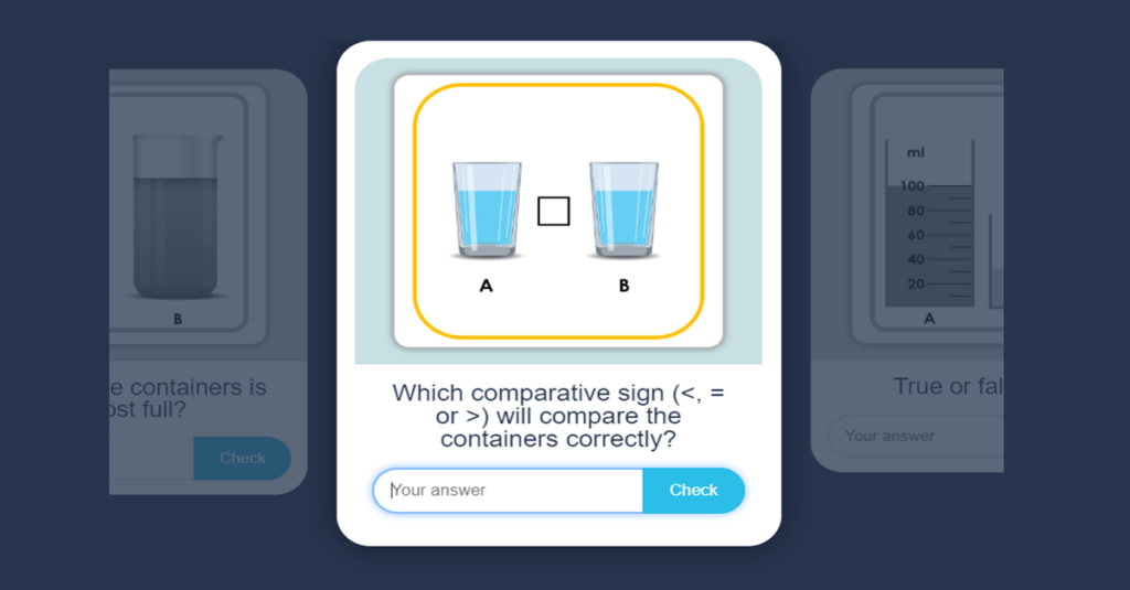 compare volume and capacity game