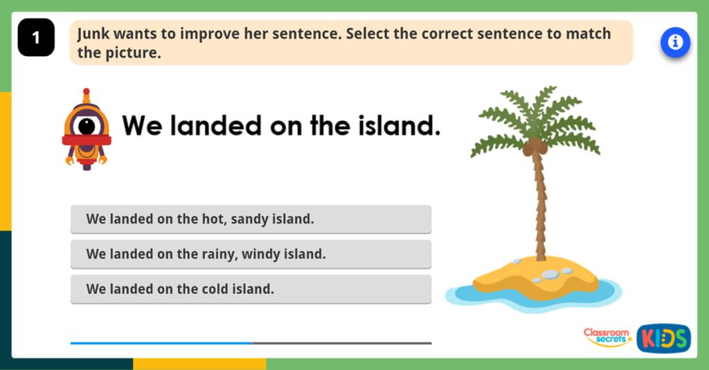 Improving Sentences Game
