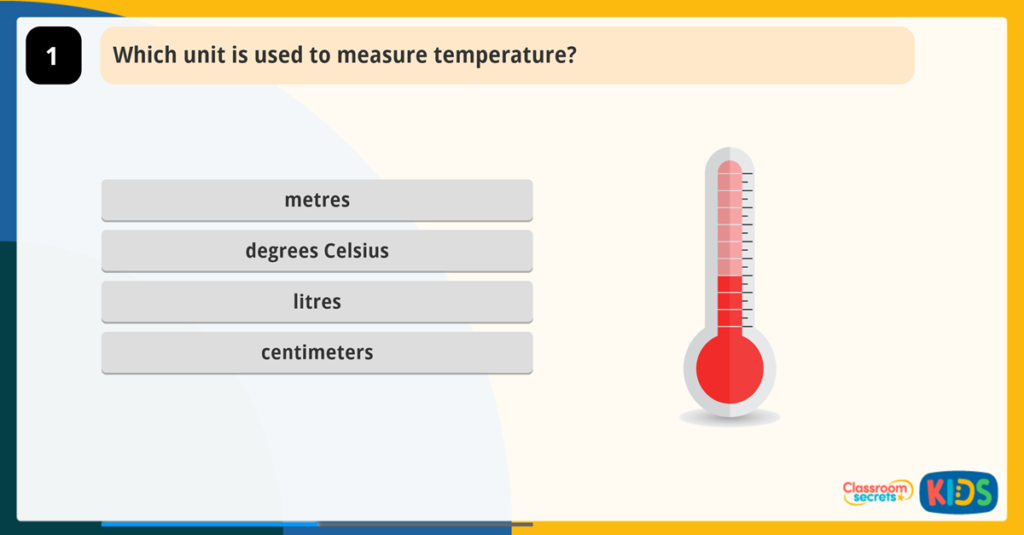 Year 2 Temperature Game