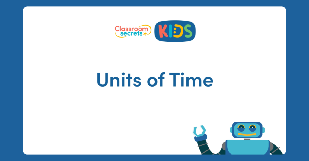 Year 3 Units of Time Video