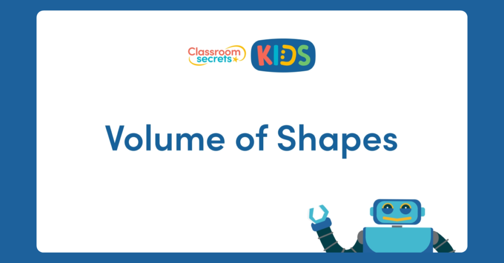 Volume of Shapes Video Tutorial