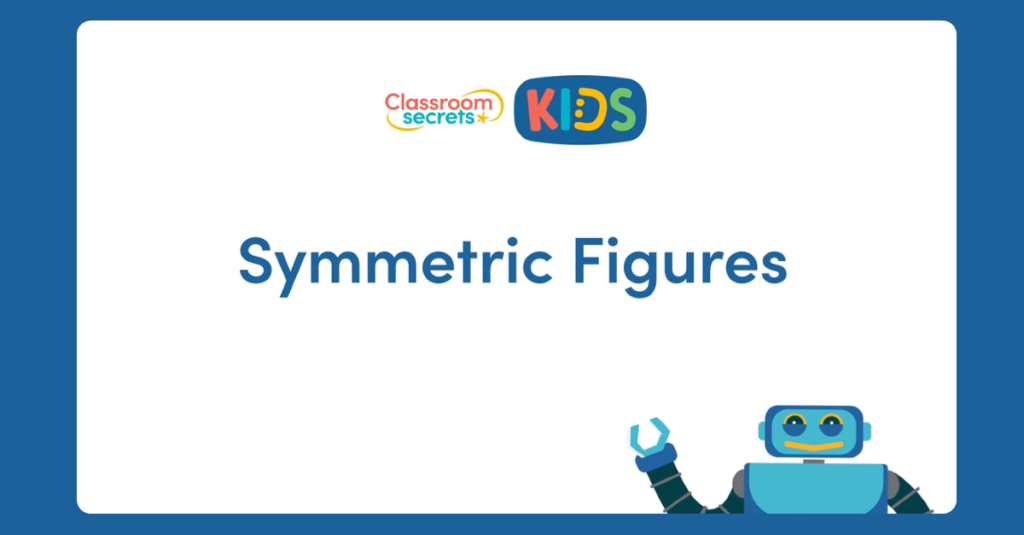 Year 4 Symmetric Figures Video