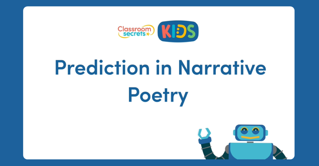 Year 5 Prediction in Narrative Poetry Video