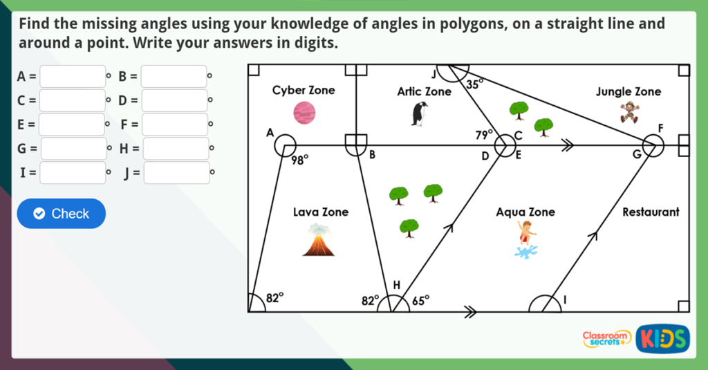 Year 6 Missing Angles Challenge