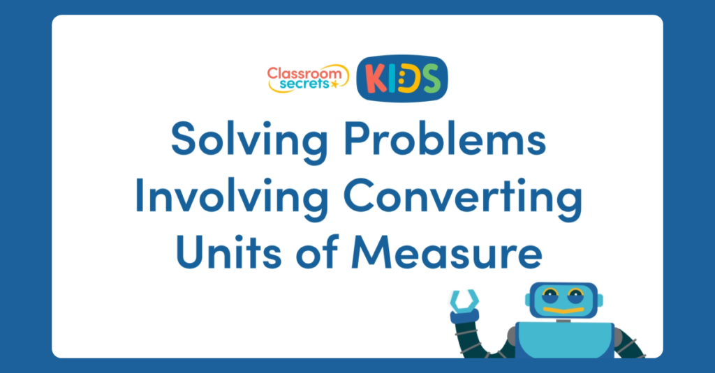 Converting Units of Measure Video
