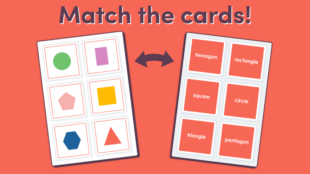 Year 1 2D Shapes Matching Game