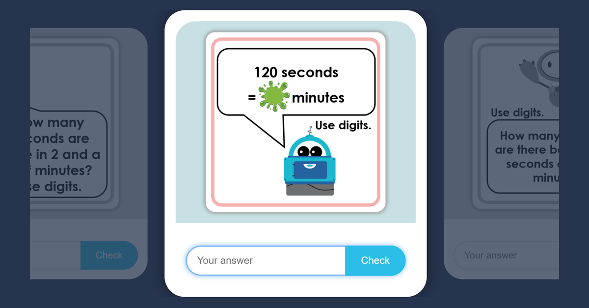 Year 3 Minutes And Seconds Flash Cards Game Classroom Secrets Kids