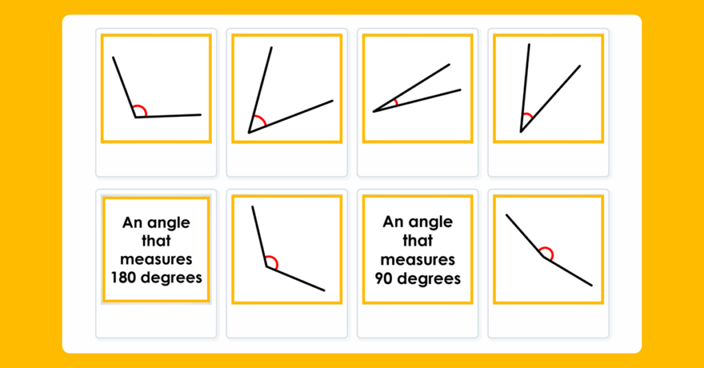 Year 4 Order Angles Sequencing Game
