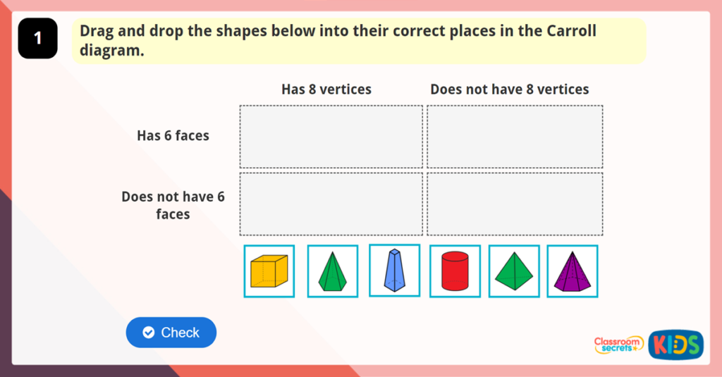 Year 6 Compare Shapes Game