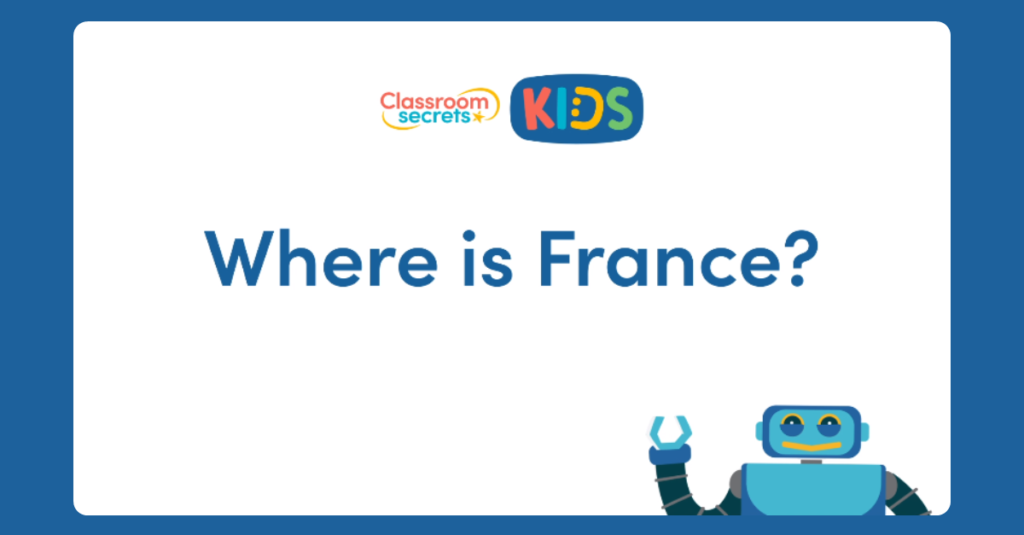 Where is France? Video tutorial