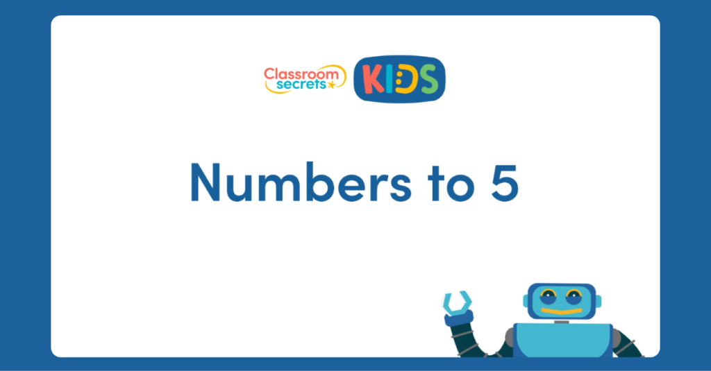 Numbers to 5 Video Tutorial