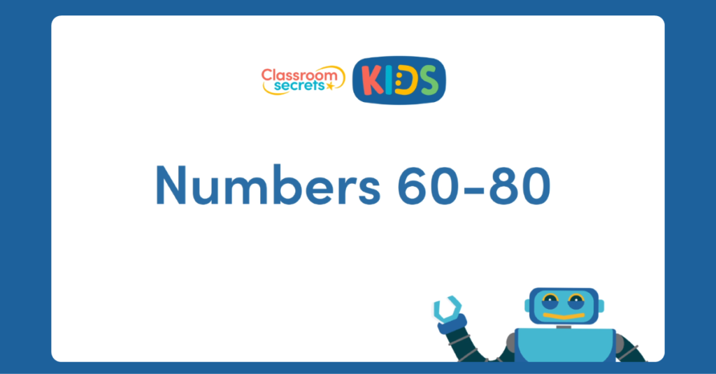 French Numbers 60 to 80 Video Tutorial