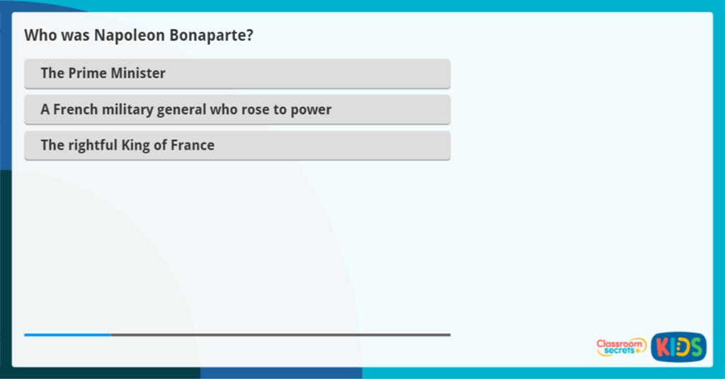 French History Activity