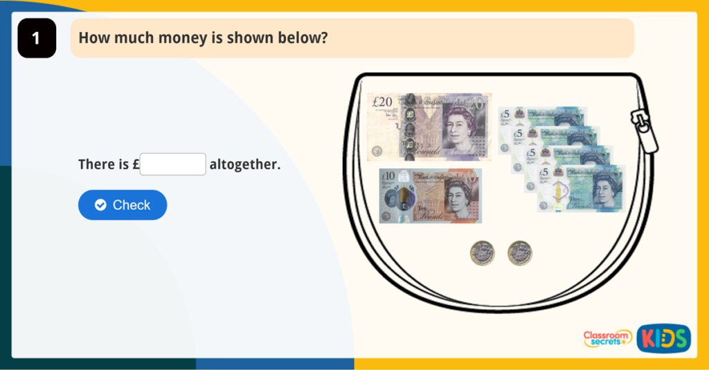 Year 2 Count Money (Pounds)