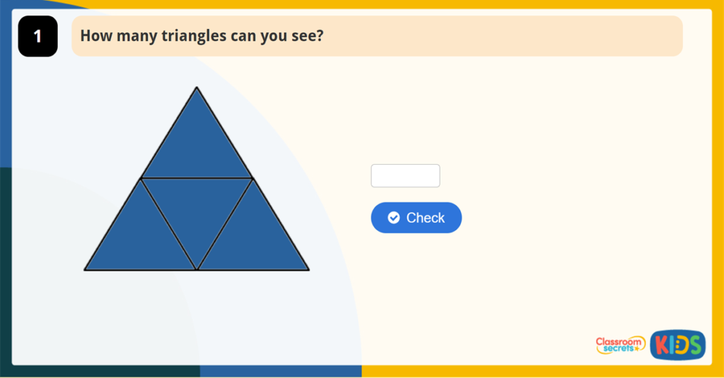 Year 2 Hidden Shapes Activity Image