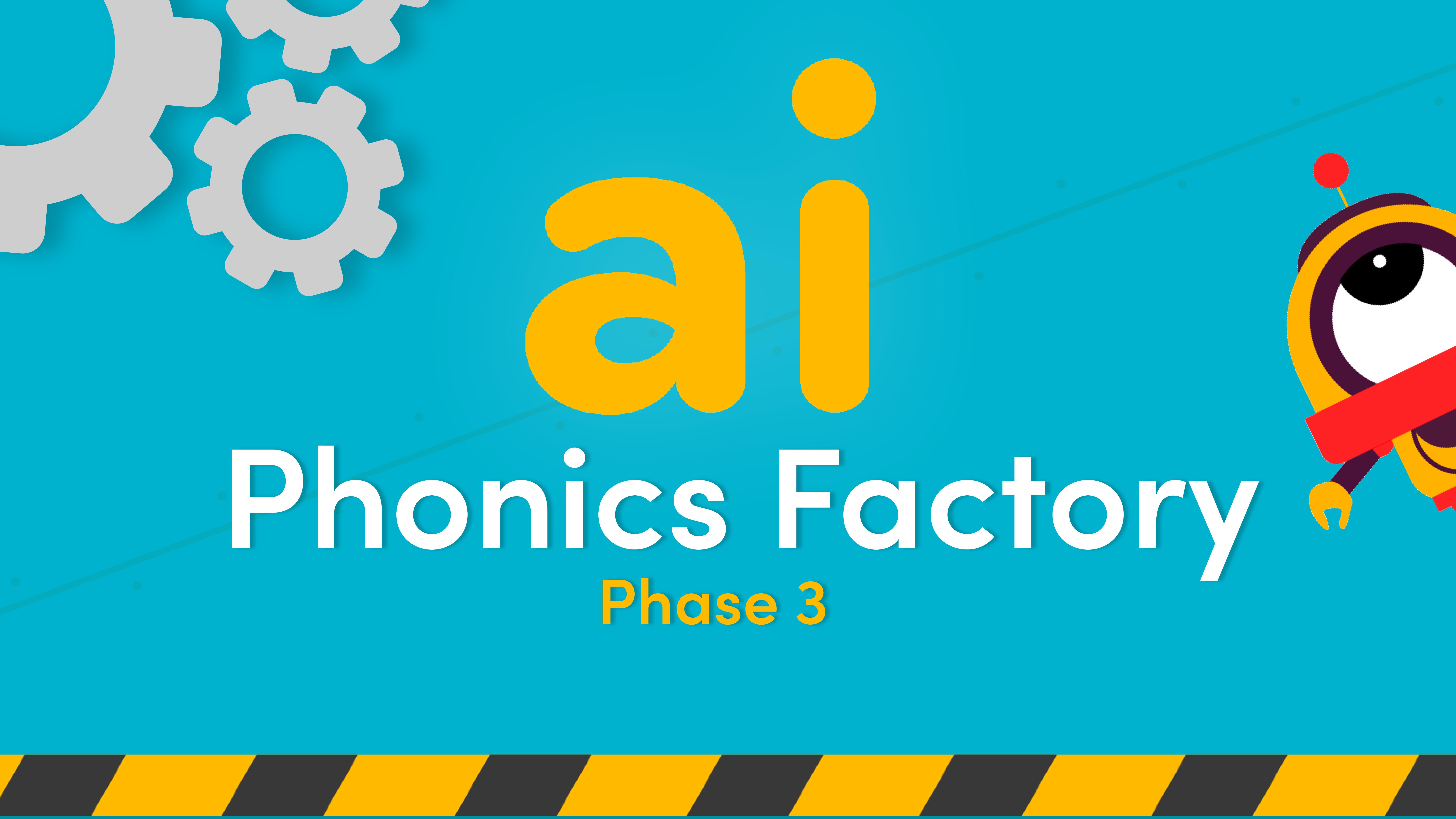 ai sound phase 3 phonics