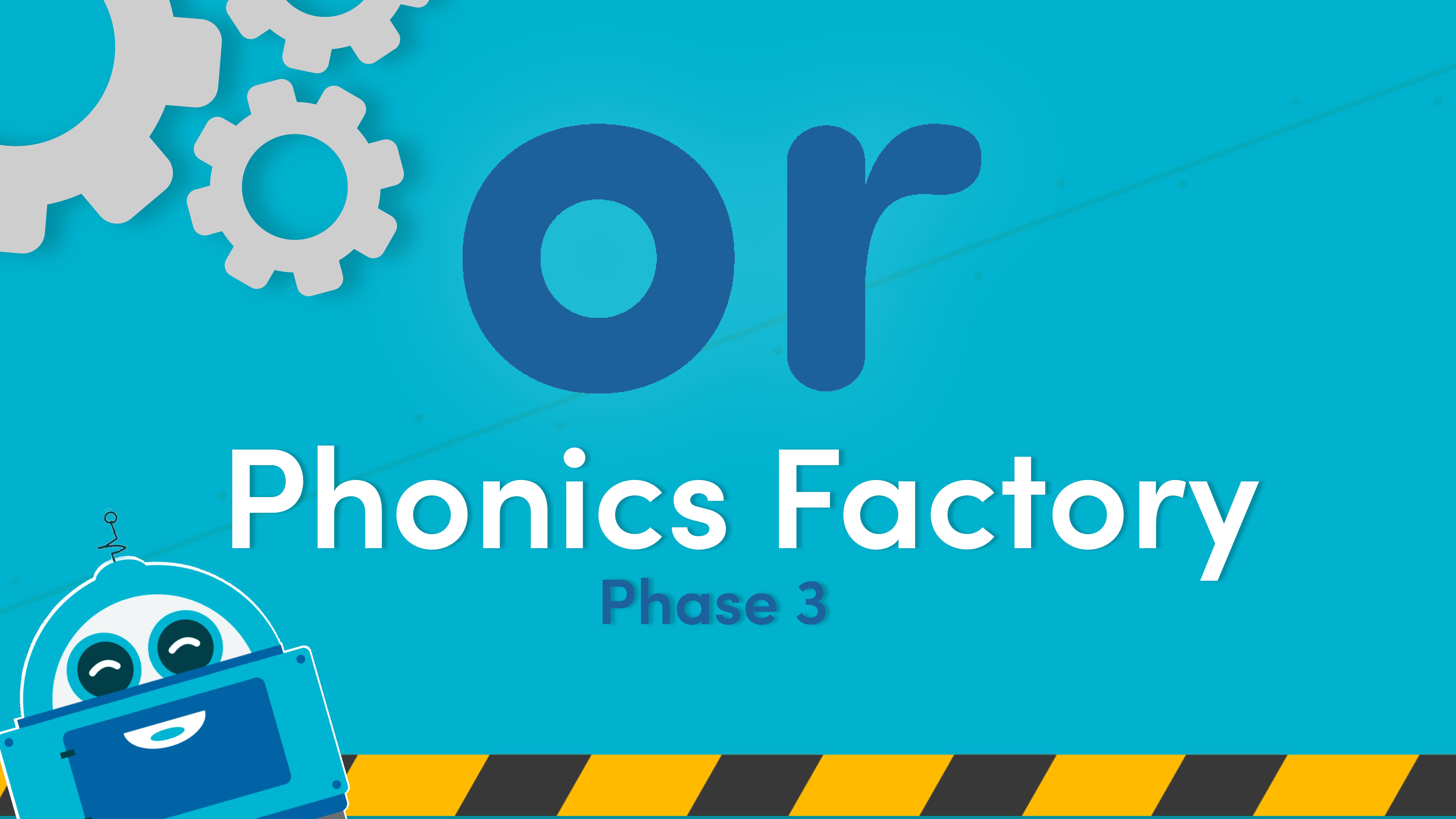 phase 3 phonics videos