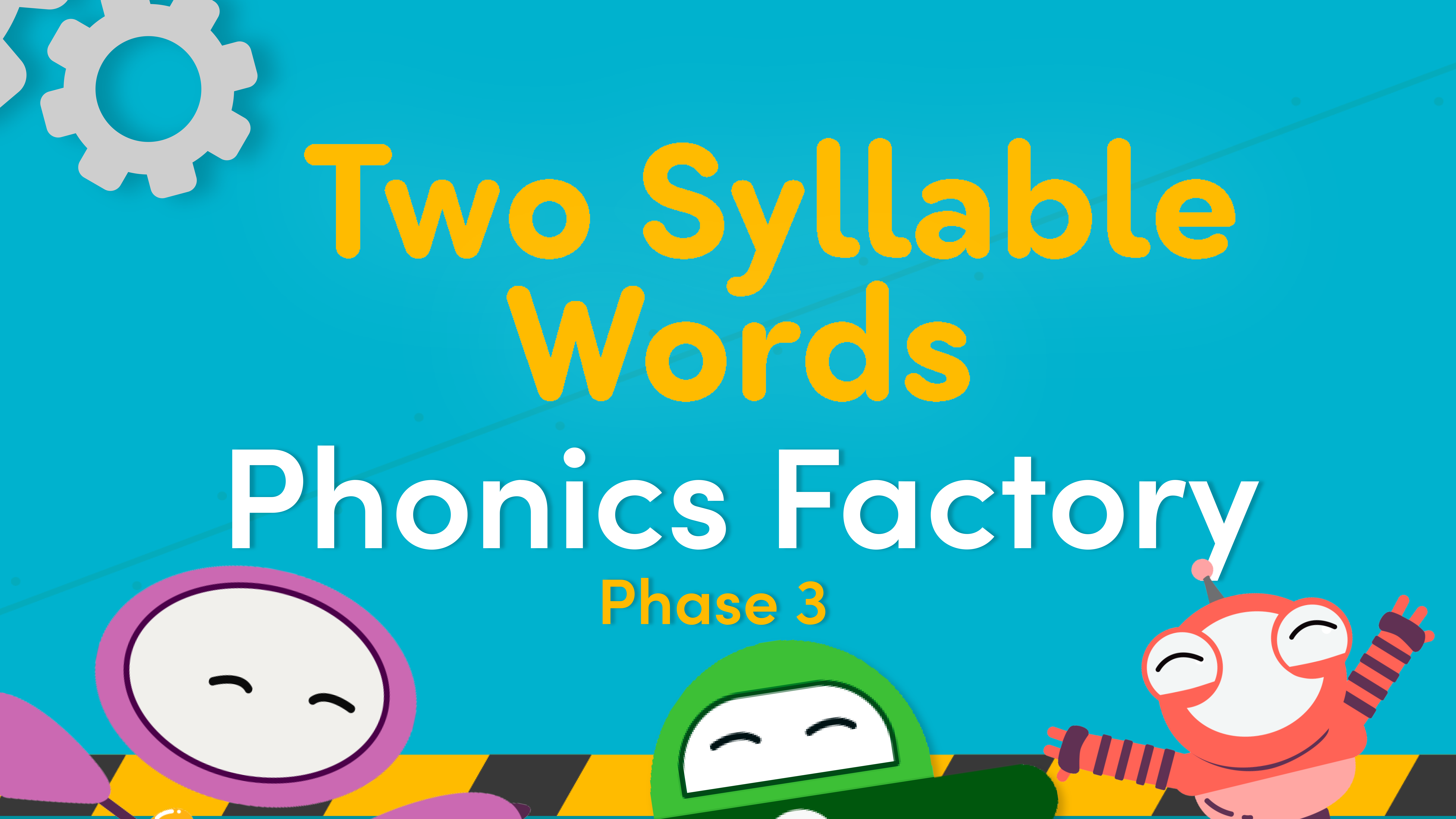 two syllable words video