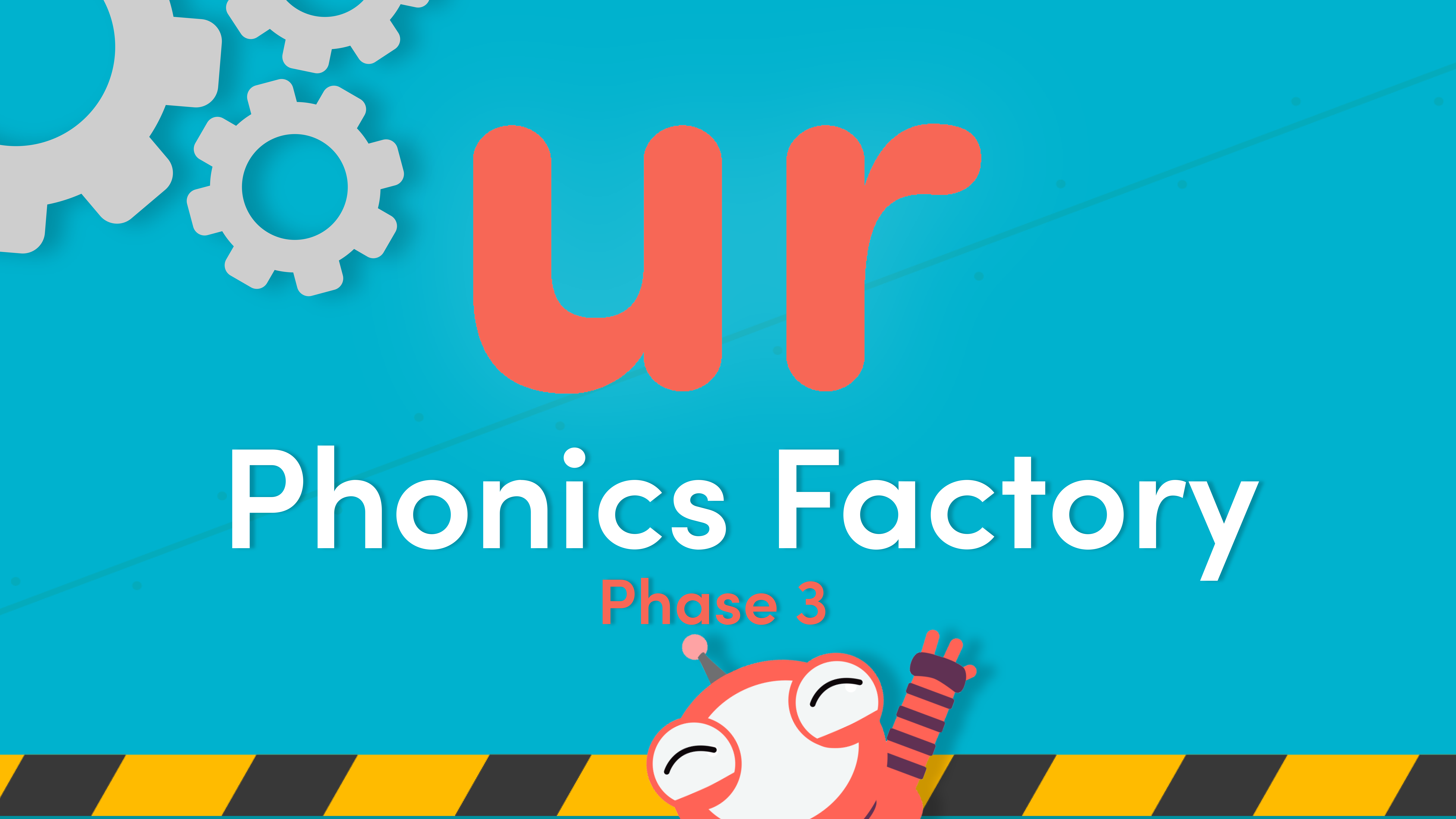 Phonics Phase 3 ur Sound Video in the Phonics Factory