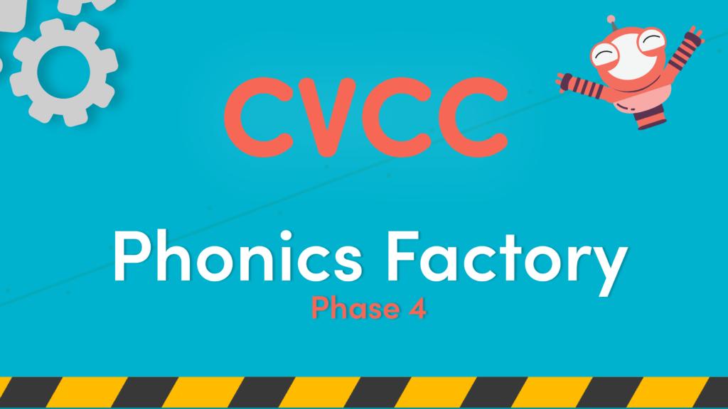 CVCC words phonics