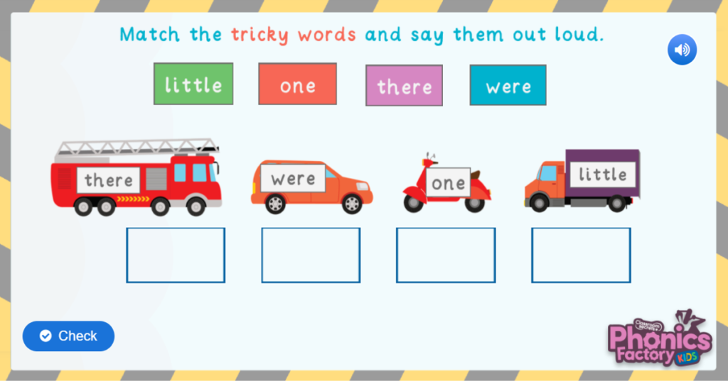 Tricky words phase 4 phonics