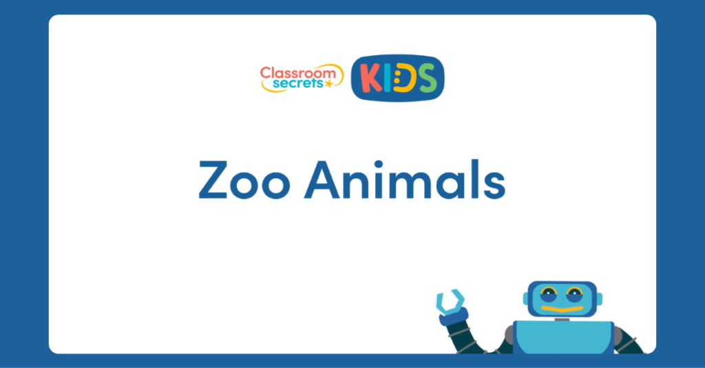 French Zoo Animals Video Tutorial