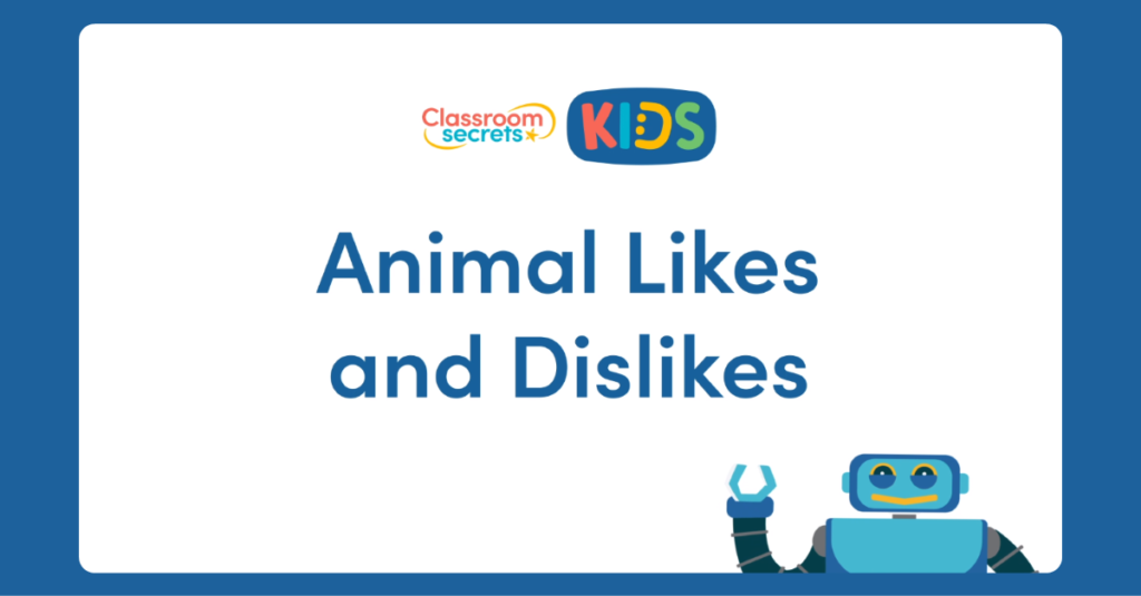 KS2 French Animal Likes and Dislikes Video Tutorial