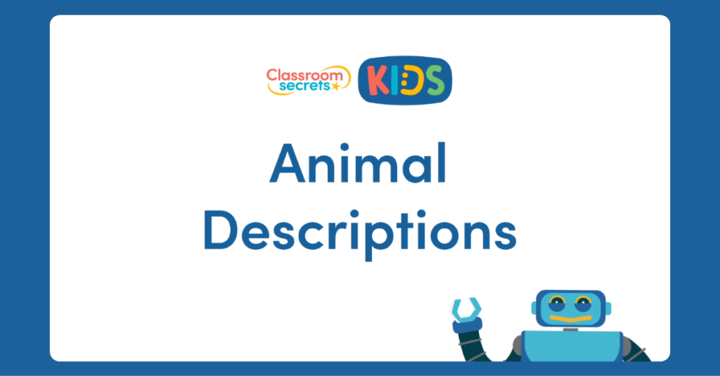 French Describing Animals Video Tutorial