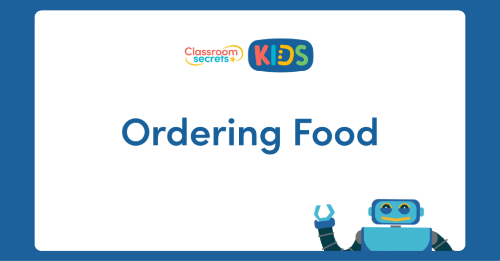 French Ordering Food Video Tutorial