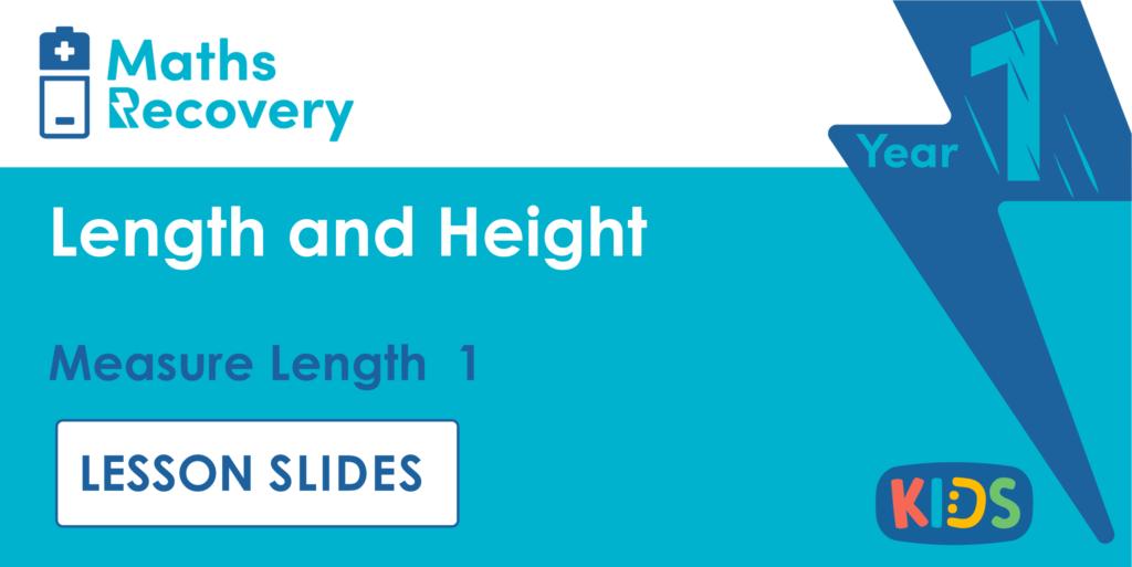 Measure Length 1 Year 1 Lesson Slides