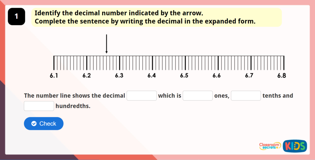 Year 5 Decimals as Fractions 2 Game