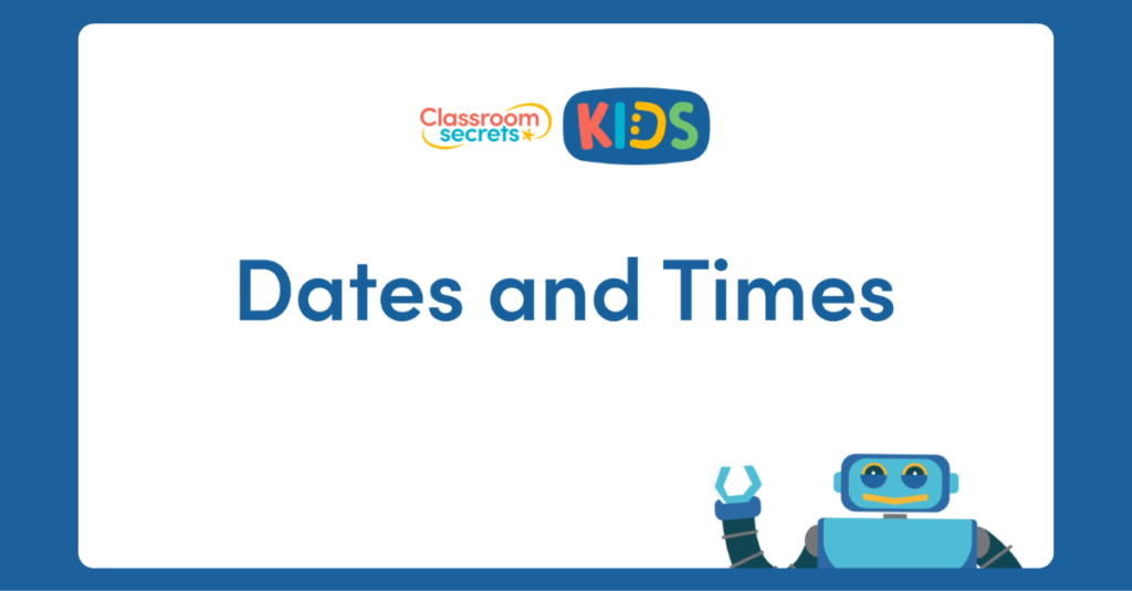 UKS2 French Dates and Times Video Tutorial