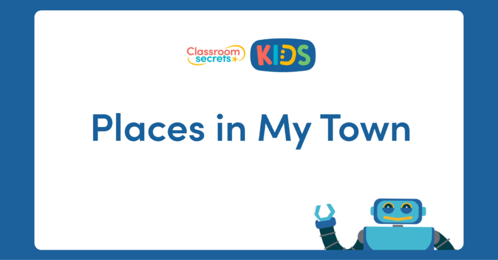 French Places in my Town Video Tutorial