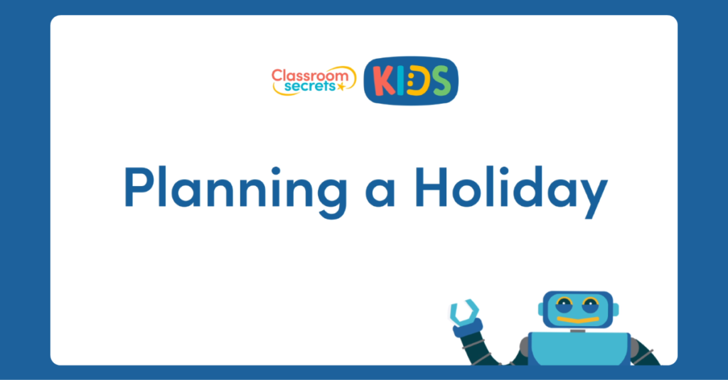 French Planning a Holiday Video Tutorial
