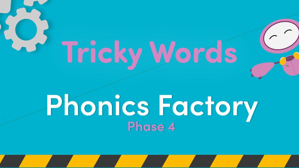 phase 4 phonics