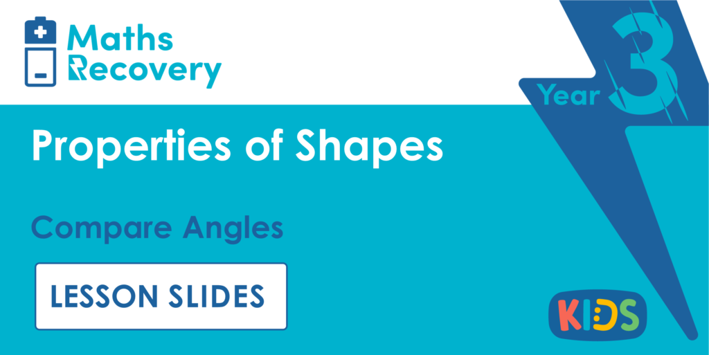 Compare Angles Year 3 Lesson Slides