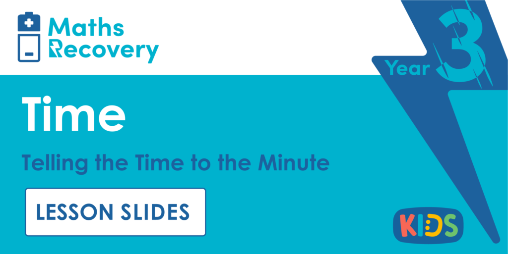 Telling the Time to the Minute Year 3 Lesson Slides
