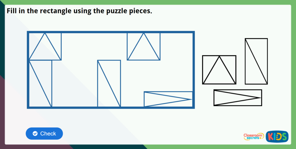 Year 4 Triangles Maths Challenge