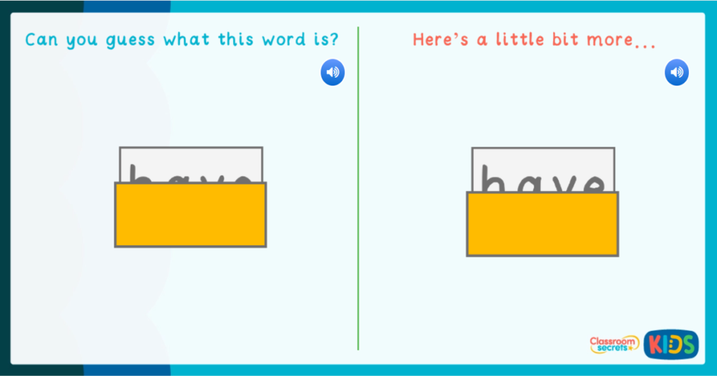 tricky words game