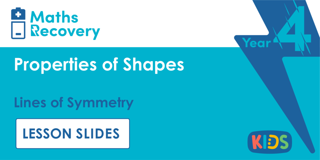 Year 4 Lines of Symmetry Lesson Slides