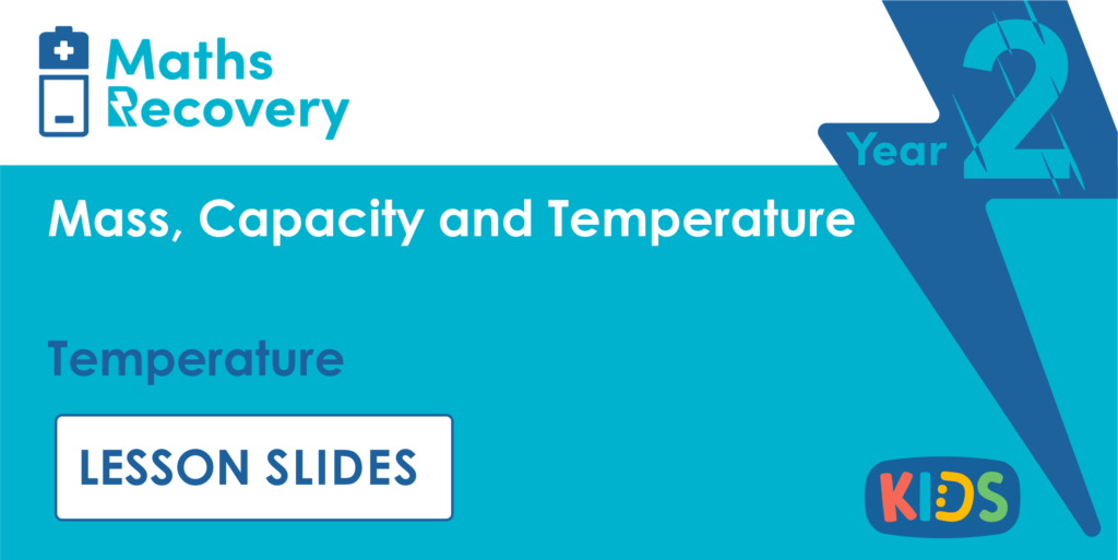 Temperature Year 2 Lesson Slides