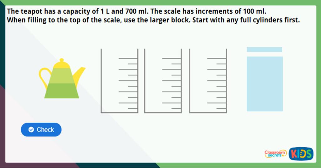 Year 3 Measure Capacity 2 Challenge