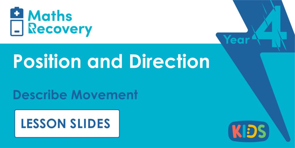 Describe Movement Year 4 Lesson Slides